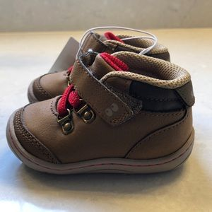 New Baby Boy Stride Rite Shoes, Size 2